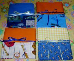Handmade pillowcases for charity.
