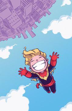 Scottie Young Captain Marvel #1.
