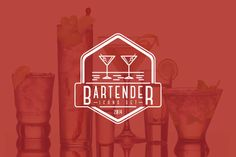 Bartender - Icon Set on Behance