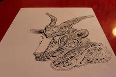 #goat #Russia #art #print #design #wear #accessories #handmade #love #illustration #ink #tatoo #style #pen #inkart #draw #shirt