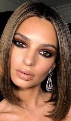Cat Eye Makeup, Prom Makeup, Smokey Eye Makeup, Hair Makeup, Smoky Eye, Kylie Makeup, Nude Makeup, Sexy Makeup, Eyeliner Makeup