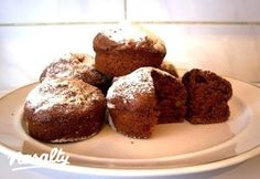 Kakaós muffin - szabad töltés | Nosalty Muffin, Food And Drink, Breakfast, Morning Coffee, Muffins, Cupcakes