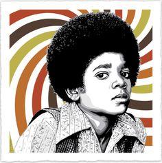 Mr. Brainwash (aka Thierry Guetta), Street Art, Michael Jackson - Rock With You, 2013