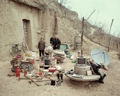 Huang Qingjun has spent nearly a decade travelling to remote parts of China to persuade people who have sometimes never been photographed to carry outside all their household possessions and pose for him.