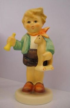 Hummel Figurine #239/C Boy With Horse TMK 7 Mint in Box. $57.97