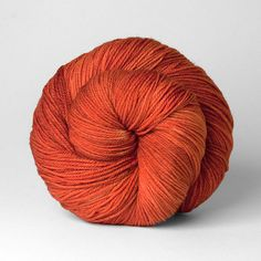 Local dyer Bumblebirch's Wellspring base in color Poppy.