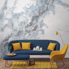 Love these #marble #wallpaper designs from @muralswallpaper - more on designmilk.com