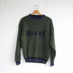 Vintage 90s Bugle Boy Sweater - S