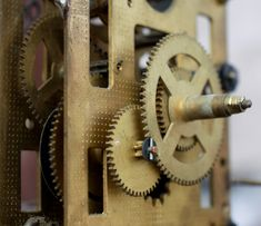 Lolli Elena-b took this awesome photo that has gear, clock, hardware accessory, metal in it Metal, Metals