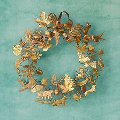 Dresden Ornament Wreath in House + Home Wreaths at Terrain