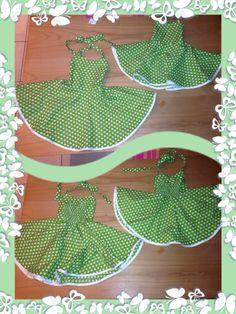 Petticoatkleid von SchNähwittchen