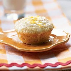 Lemon-Scented Olive Oil Muffins Recipe (Cooking Light) - simple ingredients, not terribly sweet