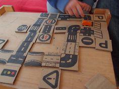 rebelle upcycling: Anlege-Schrägstrich-Memory-Schrägstrich-Verkehrserziehungsspiel