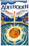 'Adelboden - Switzerland' - Glossy Art Print Taken From A Rare Vintage Travel Poster Adelboden, Winged Victory Of Samothrace, Vintage Ski Posters, Tourism Poster, Poster Prints, Art Prints, Adele, Swiss Travel, Art Deco