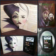 elf DISNEY VILLAINS Maleficent Sleeping Beauty Smoky Eyes Makeup Kit ~ RARE NWT! #elf