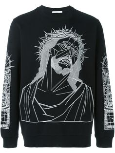 Givenchy Christ print sweatshirt