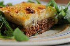 Moussaka, un popular plato de la cocina griega  Foto:LA NACION
