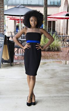 "Bailey44 ""Black & Blue"" Dress — BleuBelle Boutique - Savannah Designer Clothing"