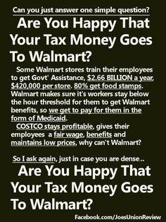 Walmart and taxes
