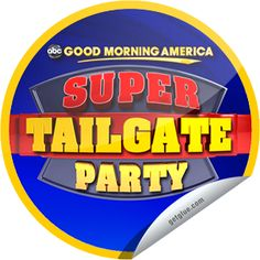 Steffie Doll's GMA Super Tailgate Party on February 1! Sticker | GetGlue