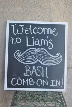 Little Mister Mustache Bash