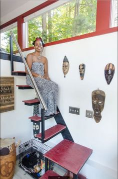 Jewel Pearson, AKA Ms. Gypsy Soul, is the happy homeowner of one of the funkiest and coolest tiny houses in town.