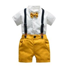 Grid Shorts Outfits Set Neugeborenen Set Jungen Kleinkind Cartoon Tops