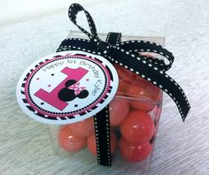 Minnie Party Favor Tags set of 12 by SugarSweetParties on Etsy, $10.00