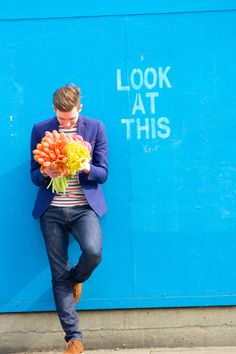 Humans with Bouquets: Will | Tulipina
