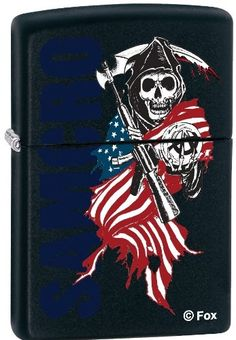 2013N Zippo Sons of Anarchy Black ** You can get more details by clicking on the image.(This is an Amazon affiliate link and I receive a commission for the sales)