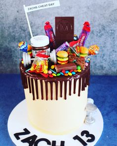 Lolly drip cake