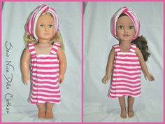 18 Inch Dolls Clothes American Girl Doll $17.00 from Sew Nice Dolls Clothes and Accessories