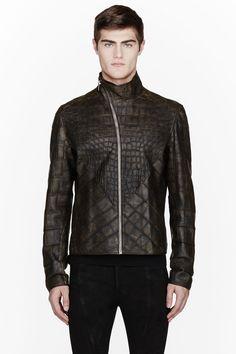 Rick Owens Alligator Jacket