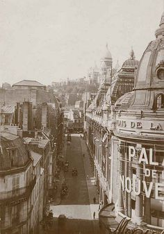 Montmartre, Galeries Dufayel, Palais de la Nouveauté (1910), Paris XVIII