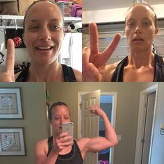 Had to catch up this morning! The lovely @ericaseese.23 took the twins so I could do workout 2 and catch up! Chisel endurance AND total body hammer done this morning! No matter what you ate or did yesterday Monday is ALWAYA a new day! #pressplay #hammerandchisel #lifeisshort #eatdessertsometimes #wine #upallnightinthebathroom #worthit #nevermissamonday #21dayfix #21dfx #intermittentfasting by hillarybarraza