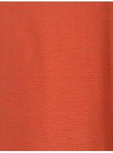 Half Price Drapes Blood Orange Yarn Dyed Faux Dupioni Silk Swatch  , #HalfPriceDrapes  , #DupioniSilkSwatch
