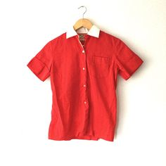 Vinage Rockabilly Vtg 50s 60s Red White Bowling by recollectionatx