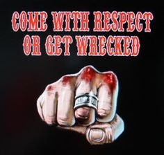 Support81 to all that are ignorant in what the red and white brother hood truly means.Dont say anything negative  that can get you knocked out.