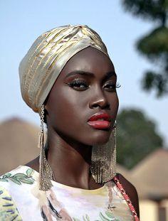 Of Course Black is Beautiful African Beauty, African Women, African Fashion, Brown Skin, Dark Skin, Light Skin, Black Girl Magic, Black Girls, Beautiful Black Women