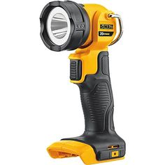 A must-have for your toolbox and home, the DeWalt 20V MAX Lithium-Ion LED Flashlight provides two zones of very bright light, giving you multiple output options. Easy to use and carry, the flashlight has pivoting functionality, is lightweight, has a ring hook for hanging and has no bulb to replace. Durably made for years of reliable use, this flashlight requires one Lithium-Ion battery (battery and charger are sold separately).