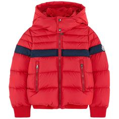 Waxed synthetic fabric Duck and feather padding Warm item Comfortable… Moncler, Prestige Clothing, Mens Down Vest, Winter Outfits, Kids Outfits, Kids Coats, Winter Jackets, Warm Jackets, Boy Fashion