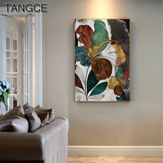 """""""Abstract Gold Bloom Flower Painting Modern Blue Poster Print Luxury Wall Canvas Picture for Living Room Pop Art In Saudi Arabia"""" Living Room Pictures, Wall Art Pictures, Canvas Pictures, Wall Art Prints, Poster Prints, Canvas Prints, Living Room Bedroom, Living Room Decor, Blue Poster"""