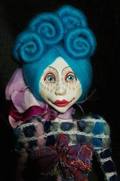 Your place to buy and sell all things handmade Vintage Oddities, Paperclay, Creepy Dolls, Art Dolls, Arms, Wool, Handmade, Fictional Characters, Etsy