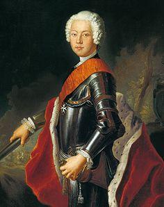 Crown Prince Friedrich von Bayreuth,  Antoine Pesne, c. 1731 Wilhelmina's husband