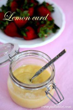 Pullahiiren leivontanurkka: Lemon curd - Sitruunatahna MAIDOTON