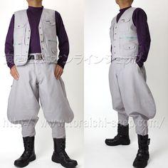 Toraichi 4441-611 Vest 4441-412 Long pants