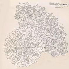 Photo From Album Free Crochet Doily Patterns, Crochet Doily Diagram, Crochet Circles, Crochet Chart, Thread Crochet, Filet Crochet, Crochet Designs, Crochet Doilies, Iris Folding Pattern