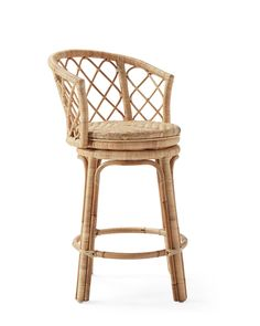 Rattan Counter Stools, Counter Stools With Backs, Rattan Stool, Kitchen Counter Stools, Swivel Bar Stools, Bar Counter, Kitchen Island, Island Stools, Avalon Furniture