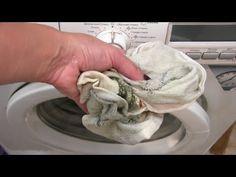 Как отстирать кухонные полотенца? Как отбелить кухонные полотенца? СУПЕР МЕТОД!!! - YouTube