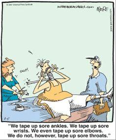 Athletic training humor :)